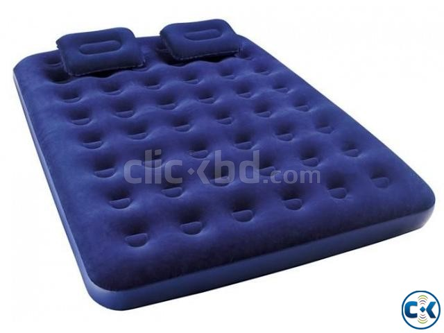 Bestway Double Air Bed with 2 Pillow | ClickBD large image 1