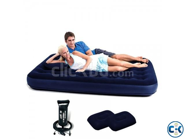 Bestway Double Air Bed with 2 Pillow | ClickBD large image 2
