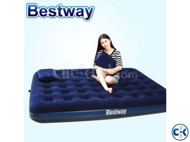 Bestway Double Air Bed with 2 Pillow | ClickBD large image 3