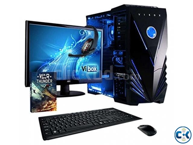 Core i5 COMPUTER..250GB 2GB 17 LED MONITOR | ClickBD large image 0