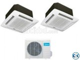 Midea 5.0 Ton AC 60000 BTU Cassette &Ceiling Air Conditioner