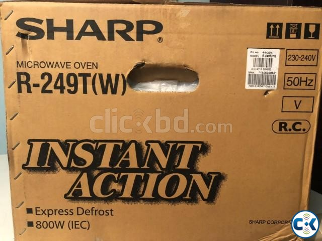 SHARP MICROWAVE OVEN BRAND NEW | ClickBD large image 1