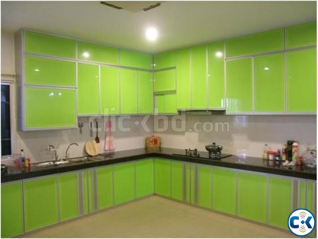 Kitchen Cabinet Interior Design Service in Dhaka | ClickBD large image 0