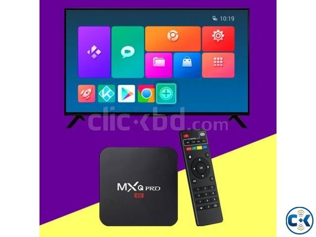 MXQ PRO 4K Android TV Box Smart TV Box - CHEAPEST PRICE | ClickBD large image 0