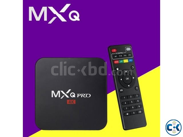 Android Smart TV Box MXQ PRO 4K Best Price BOISAKH OFFER | ClickBD large image 0