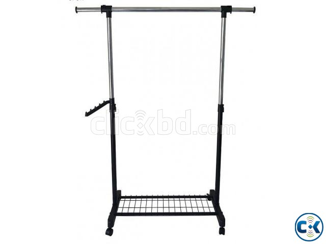 APPAREL SINGLE HANGER RACK - SINGLE RACK  | ClickBD large image 0