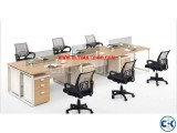 Office Work Station Desk Six person -UD.001