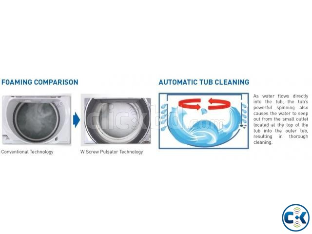 Sharp Full Auto Washing Machine ES-X805 | ClickBD large image 3