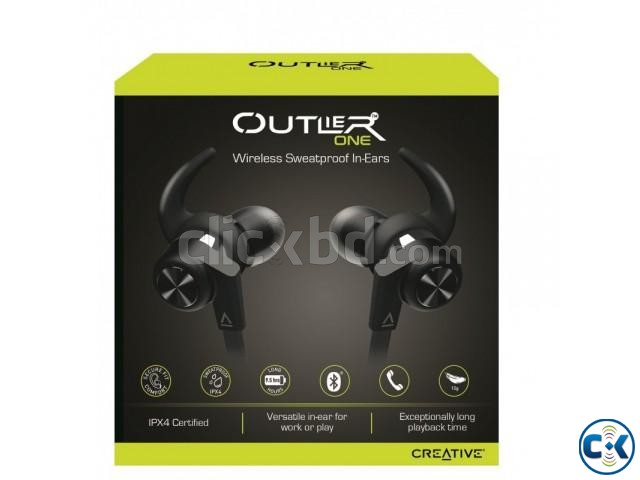 Creative Outlier ONE Wireless Bluetooth Earphone | ClickBD large image 1