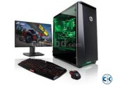 Gaming Core i3 500GB 4GB 20 LED Monitor..