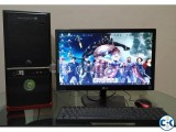 Core i7 Gaming Computer with LED HD Monitor
