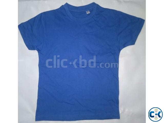 Boys solid t shirt | ClickBD large image 0