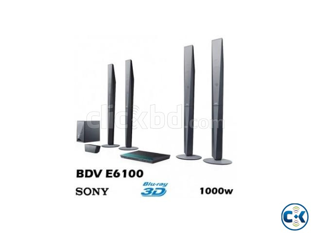 BDV-E6100 Full HD 3D Home Theater 1000W | ClickBD large image 0