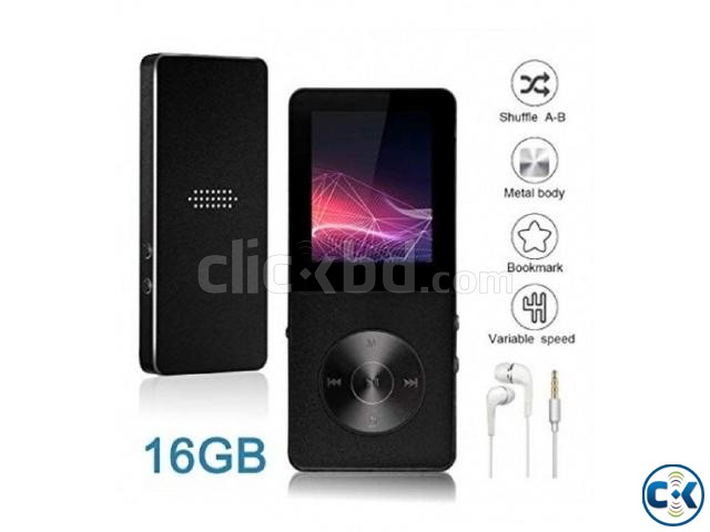 T02 Mp4 player 16GB Hi-Fi Sound FM Voice Recorder Metal Body | ClickBD large image 0