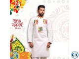 Boishaki Panjabi White Colors