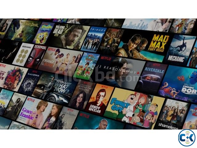 Get a Netflix Premium 12-month plan Only TK 3000 Yr. | ClickBD large image 1
