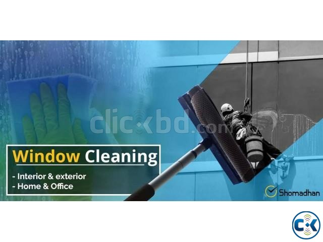 Home Office Window Cleaning Service in Dhaka Shomadhan | ClickBD large image 0