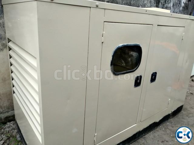 Perkins 60 KVA with Canopy Diesel Generator Set | ClickBD large image 4