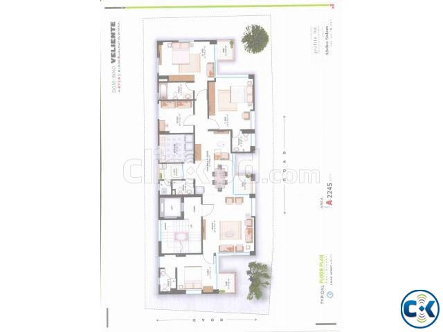 LALMATIA 4 BED FLAT SALE BLOCK- E | ClickBD large image 0