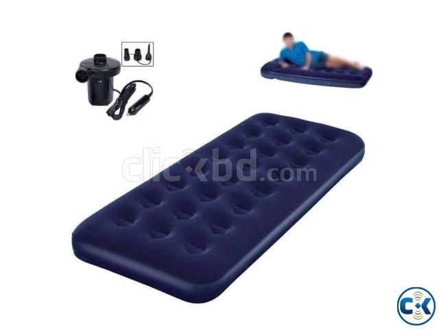 Bestway Single Air Bed With Free Air Pumper | ClickBD large image 1
