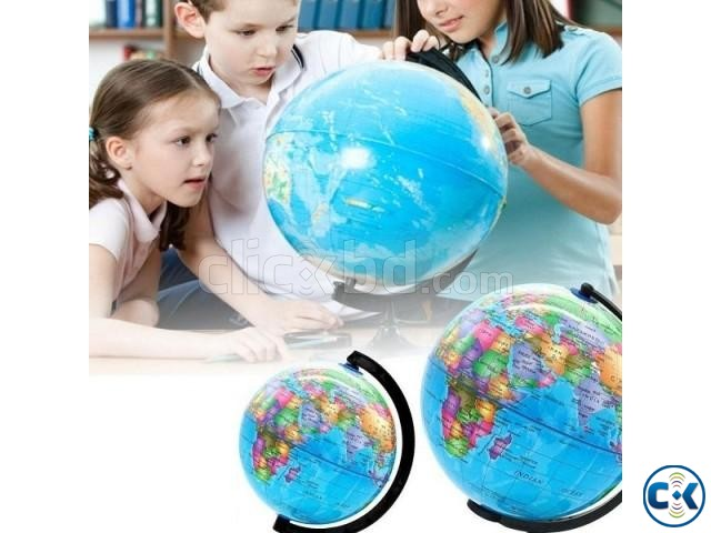 Desktop World PVC Globe Kids Educational Learning 12inch | ClickBD large image 0