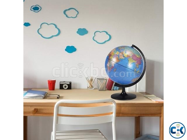 Desktop World PVC Globe Kids Educational Learning 12inch | ClickBD large image 3