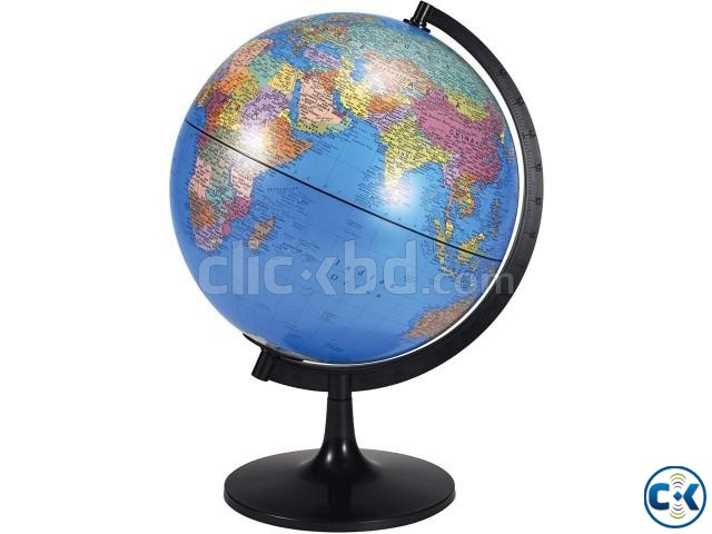 Desktop World PVC Globe Kids Educational Learning 12inch | ClickBD large image 4