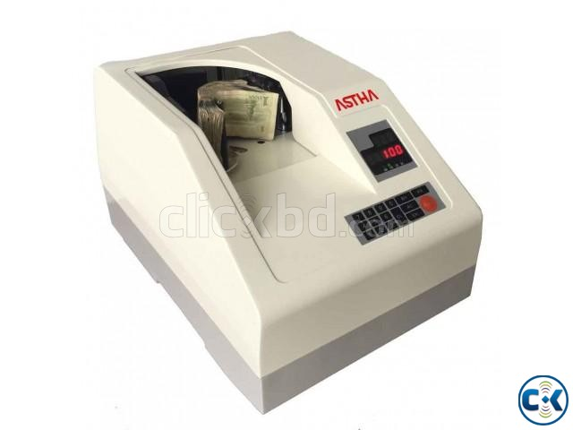 ASTHA CH-600D Desktop Vacuum Type Banknote Counting Machine | ClickBD large image 0