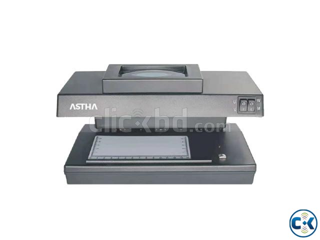 ASTHA UV-106M10 Counterfeit Note Detector Machine | ClickBD large image 0