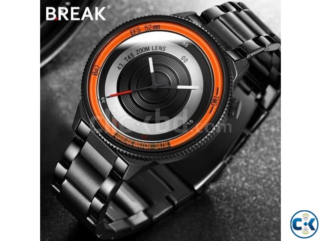 Break t45 Orange Camera Design Watch | ClickBD large image 0
