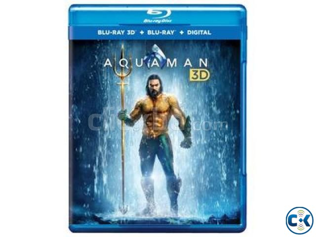 Aquaman 3D Blu-ray New | ClickBD large image 0
