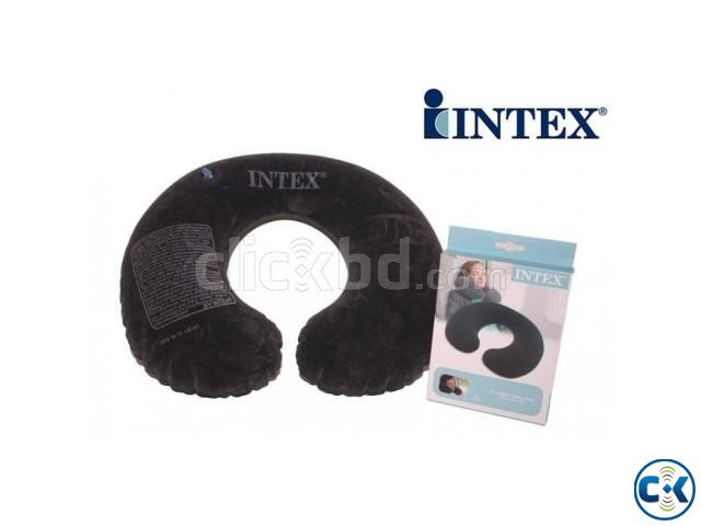 Inflatable intex Air Travel Pillow | ClickBD large image 0