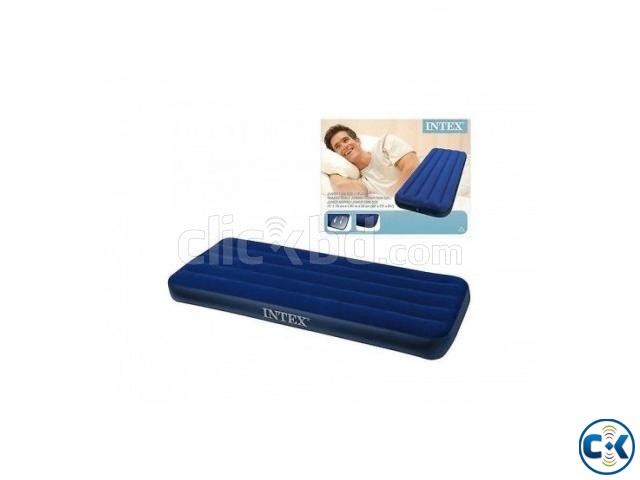intex Single Air Bed in BD Free Pumper | ClickBD large image 0