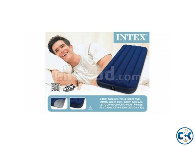 intex Single Air Bed in BD Free Pumper | ClickBD large image 2