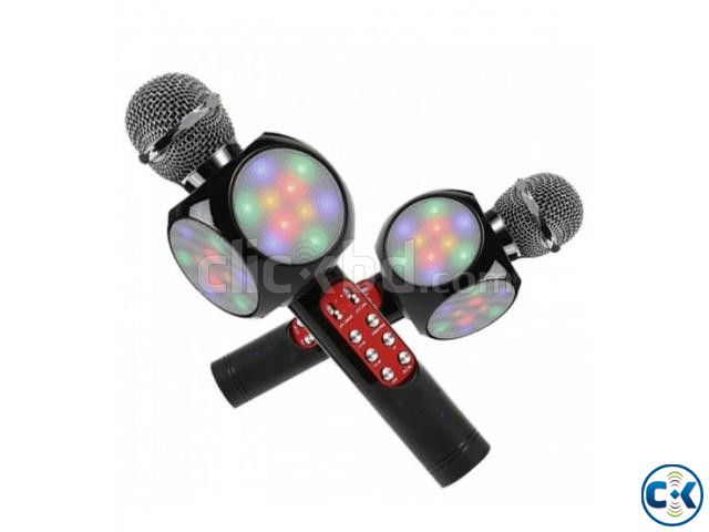 WS1816 Wireless Bluetooth Karaoke Microphone | ClickBD large image 0