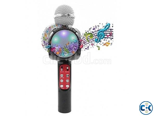 WS1816 Wireless Bluetooth Karaoke Microphone | ClickBD large image 2