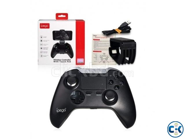 ipega PG - 9069 Bluetooth Gamepad with Touch Pad | ClickBD large image 1