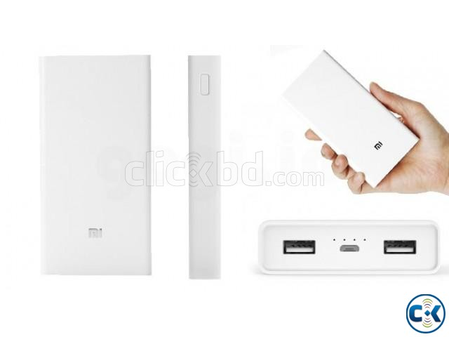Mi 20000mAh Power Bank in BD 2c Quick Charge 3.0 | ClickBD large image 1