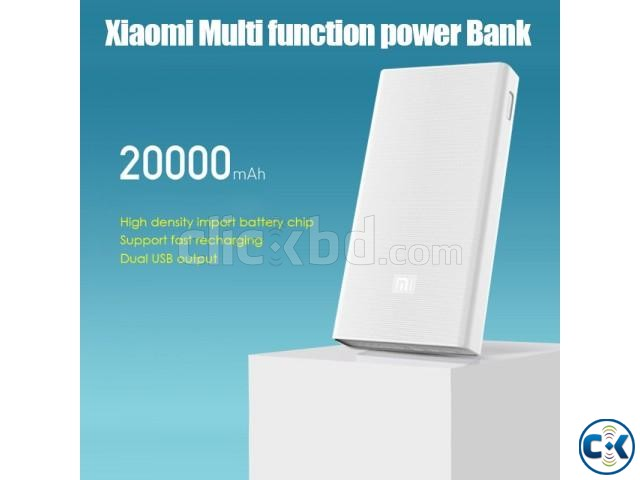 Mi 20000mAh Power Bank in BD 2c Quick Charge 3.0 | ClickBD large image 2