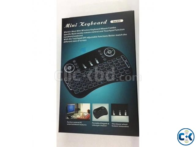 Mini Bluetooth Keyboard in BD Touch Mouse Pad | ClickBD large image 1