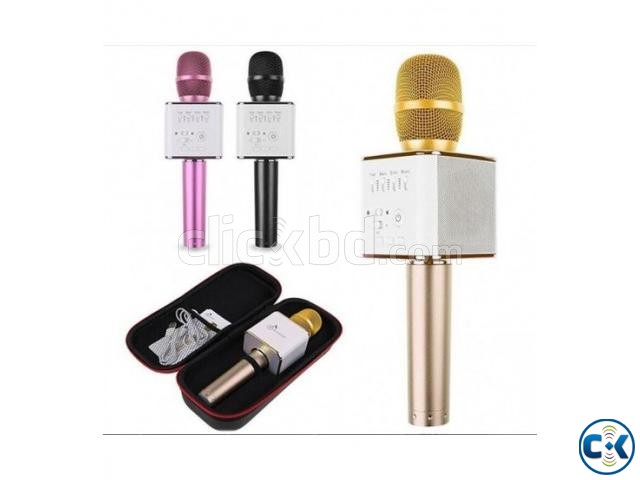 Q7 Wireless Bluetooth Microphone Karaoke | ClickBD large image 0