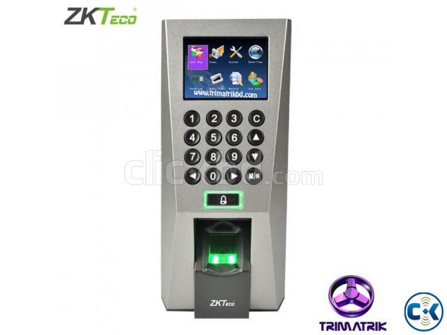 ZKTeco F18 Access Control Time Attendance Genuine  | ClickBD large image 0
