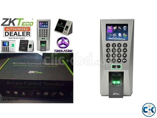 ZKTeco F18 Access Control Time Attendance Genuine  | ClickBD large image 1