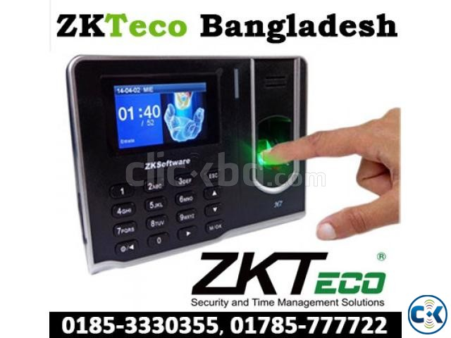 ZKTeco F18 Access Control Time Attendance Genuine  | ClickBD large image 2