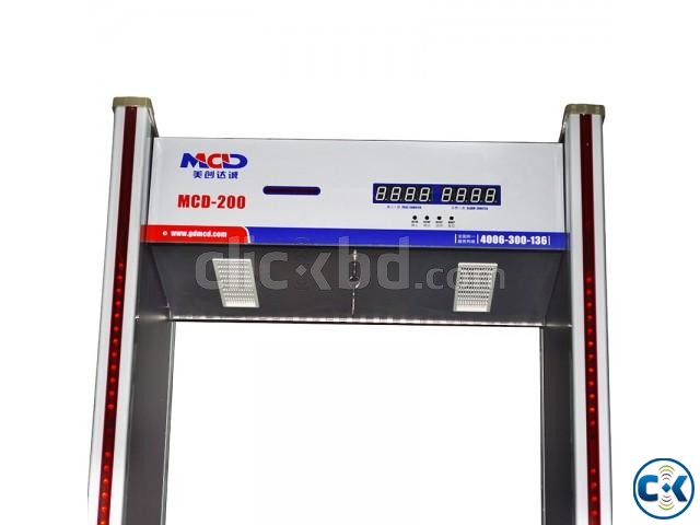 6-Zone Archway Metal Detector Gate Bangladesh | ClickBD large image 2