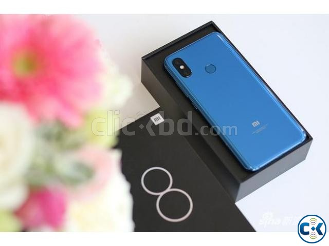 Brand New Xiaomi Mi 8 6 128GB Sealed Pack 3 Year Warranty | ClickBD large image 0