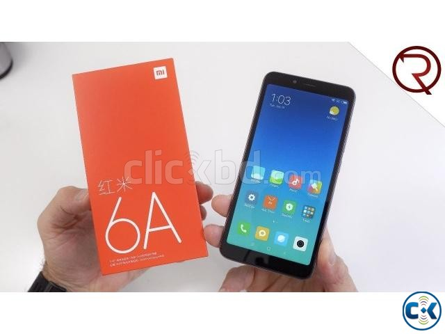 Brand New Xiaomi Redmi 6A 16GB Sealed Pack With 3 Yr Warrnty | ClickBD large image 0