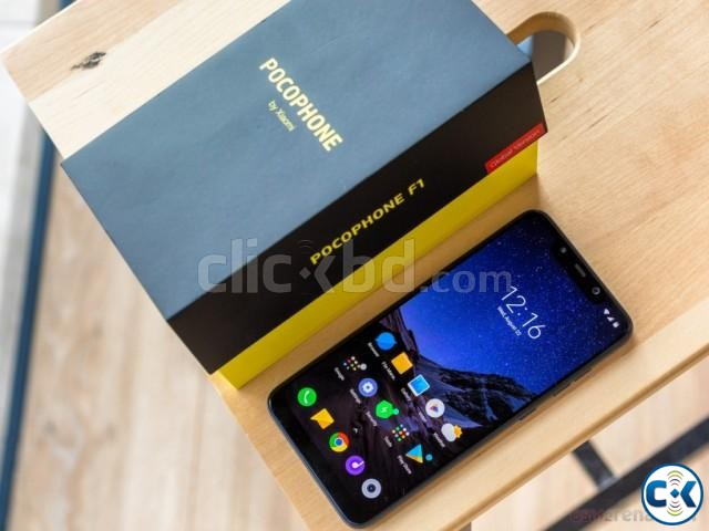Brand New Xiaomi Pocophone F1 64GB Sealed Pack 3 Year Wanty | ClickBD large image 2