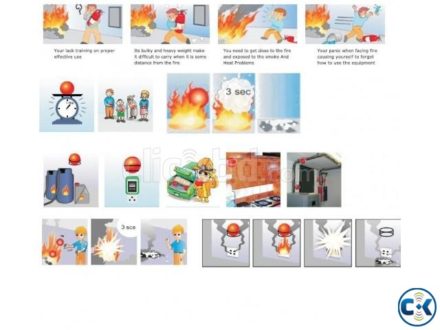 Hanging Automatic Fire Extinguisher Ball | ClickBD large image 4