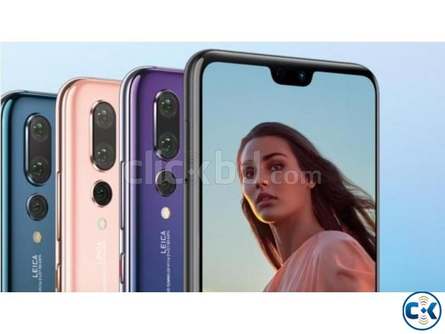 New Condition Huawei P20 Pro 128GB Sealed Pack 3 Yr Warranty | ClickBD large image 0